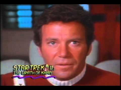 Star Trek 2: The Wrath Of Khan Trailer 1982