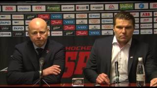 Sport - JYP lehdistötilaisuus 1.12.2016