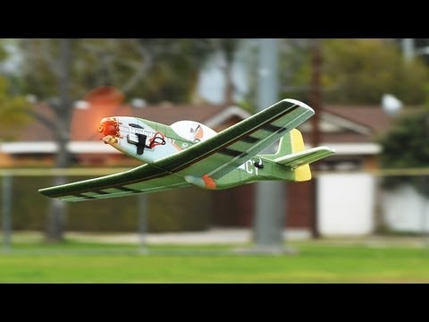 Tech One 4 Ch P-51 EPP Plane