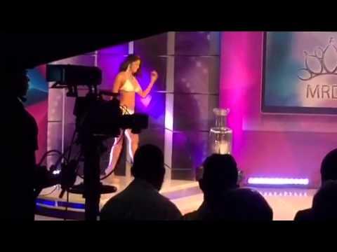 Preliminar del Miss República Dominicana Universo 2015 Steisy Morel Miss Santo Domingo Oeste