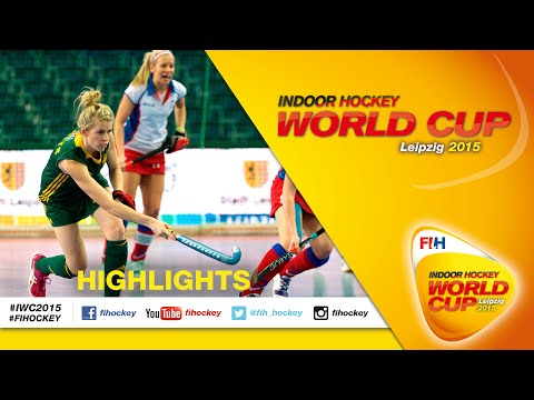 Australia v Czech Republic - Highlights Women's Indoor Hockey World Cup 2015 Germany Quarter-Final
