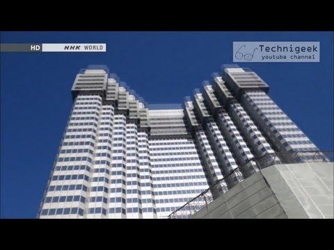 هدم المباني العملاقة بطريقة امنة جدا وصديقة للبيئة Amazing ecological way to demolish skyscrapers