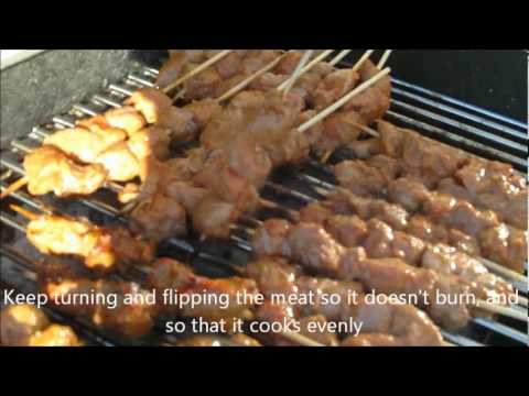 How to Make Mishakiki (Beef Skewers)