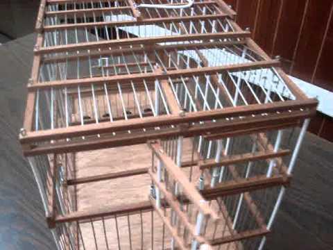 Como hacer una jaula de madera para canarios - Imagui