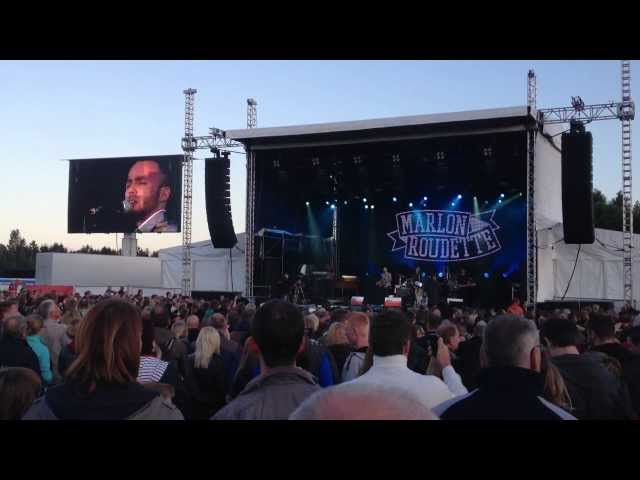 Marlon Roudette New Age Live 2012