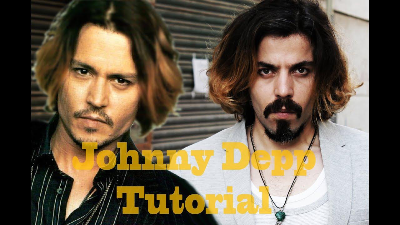 Peinado Y Barba De Johnny Depp En Espaol Outfit Para