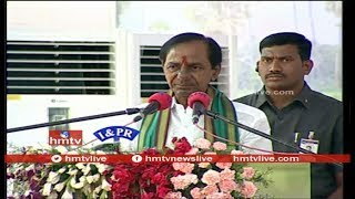 Telangana CM KCR LIVE Speech | Farmers' Coordination Committee  | hmtv