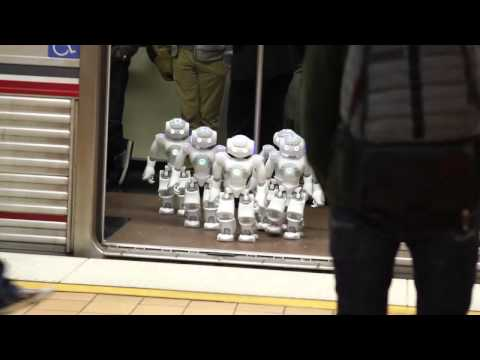 Subway Robot Sighting!