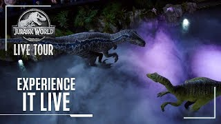 Experience it Live | Jurassic World Live Tour