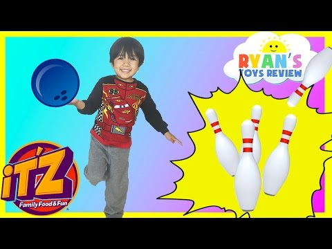 Indoor Family Fun Center For Kids IT'Z Bowling Car Racing Games And Activities Kids Video