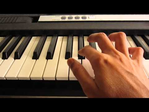 Ek Hasina Thi Piano Tutorial Easy video