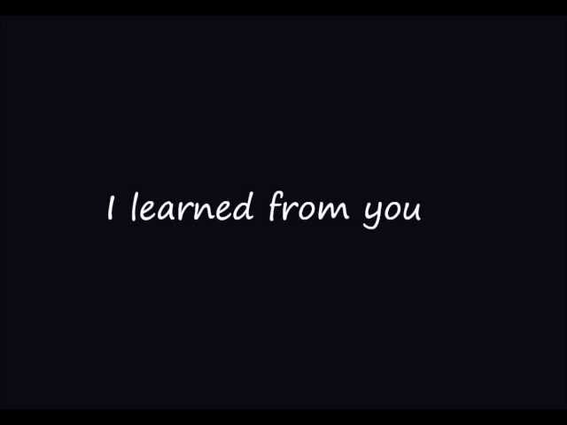 Whitney Houston - I learned from the best Lyrics.mp4