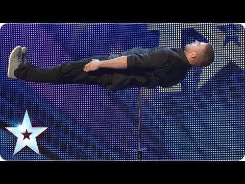 Check out the sharp moves and a spiky illusion from our latest magic maker. Watch the Judges reaction and plenty more BGT treats here: http://talent.itv.com/2013/videos/auditions/watch_could-it-be...