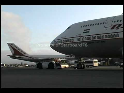 Air India 747 Action at LAX