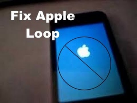 FIX BRICKED IPHONE -APPLE LOOP EASY FIX: TWO MINUTE FIX NO RESTORE NEEDED