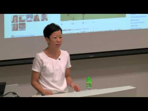 Lecture: Business reporting, by Yumiko Ono