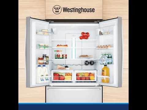 Westinghouse 605L Stainless Steel French Door Fridge