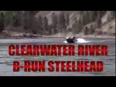 Clearwater River Steelhead Fishing with the Stottlemyre's. www.fishstotts.com