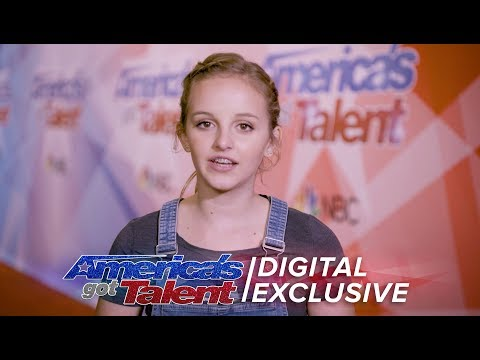 Evie Clair Is Thankful For America's Support - America's Got Talent 2017