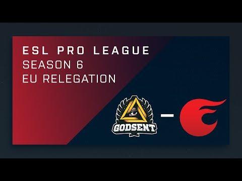 CS:GO - GODSENT vs. eXtatus - EU Relegation - ESL Pro League Season 6