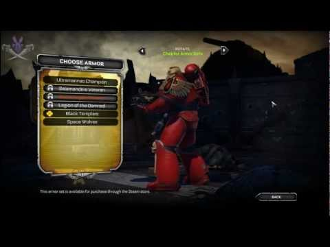 Warhammer 40,000: Space Marine - Update(12/20/2011)