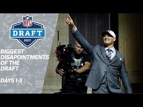 Biggest Disappointments Of 2017 Nfl Draft Nfl Network