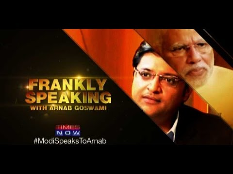 Frankly Speaking with Arnab Goswami - Narendra Modi