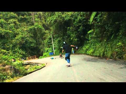 Longboarding: Felidia Freerace 2012
