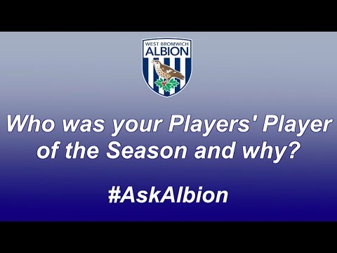 Albion players reveal who they voted for in the club's Players' Player of the Season poll