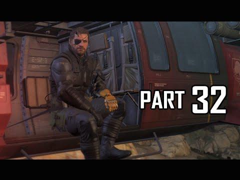 Metal Gear Solid 5 The Phantom Pain Walkthrough Part 32 - OKB Base (MGS5 Let's Play)