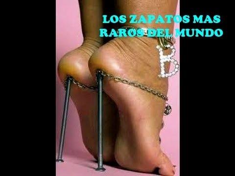 Los zapatos mas raros del mundo │ Zapatos extraños