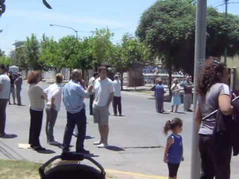 Vecinos de Gutiérrez cortaron el carril Maza durante más de 4 horas tras pasar dos días sin luz