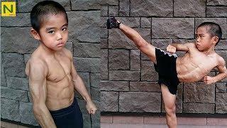 ブルース・リー少年 RYUSEIの身体能力とトレーニング&カンフー【筋トレ】