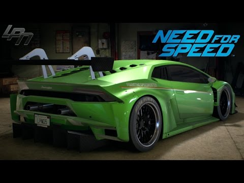 NEED FOR SPEED (2015) - LAMBORGHINI HURACAN GAMEPLAY (TUNING, CRUISING, DRIFTING, RACES)