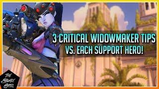 WIDOWMAKER GUIDE: 3 CRITICAL TIPS VS EACH SUPPORT HERO!