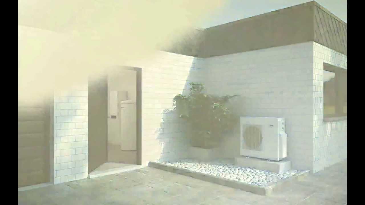 Pompe chaleur air eau viessmann vitocal 200 s youtube - Pompe a chaleur viessmann vitocal 100 ...