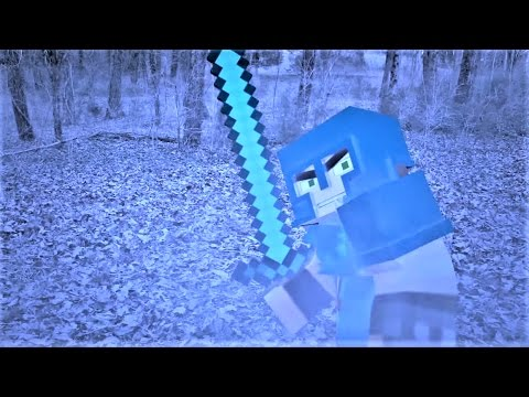 "Minecraft Songs:  ""Bad Guys Have To Die"" Minecraft in real life ♪♪ Minecraft song and animation"