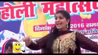 New Haryanvi Song 2017 HD  Sapna Amazing Amazing Hot Dance On Stage  YouTube