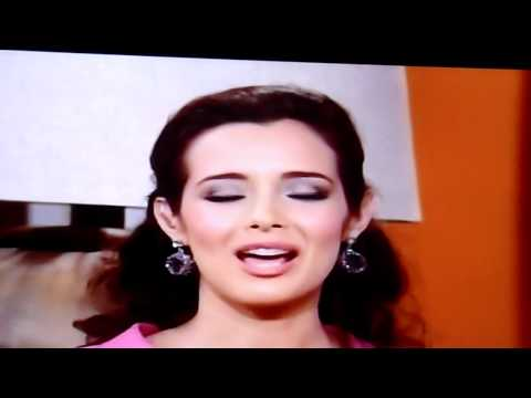 Miss Nicaragua 2011 - Adriana Dorn en TELEMUNDO