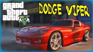 GTA 5 Моды: Dodge Viper - РЕАЛЬНАЯ ТАЧКА