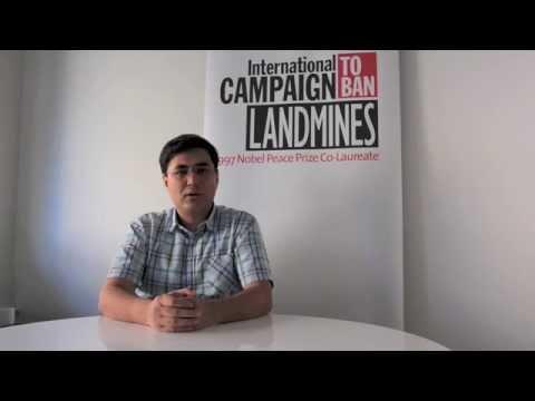 Help Mine Ban Community End Landmine Casualties NOW! - ICBL's Firoz Alizada