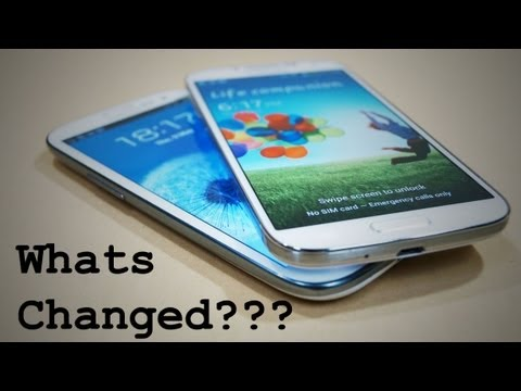 Galaxy S4 vs Galaxy S3 Comparison - Worth the Upgrade? - Cursed4Eva