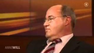 Finanzkrise - Talkshow Anne Will mit Dirk Müller, Gregor Gysi ua.
