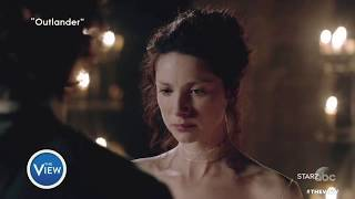 Caitriona Balfe and Sam Heughan Talk Sex Scenes, Strong Female Roles In
