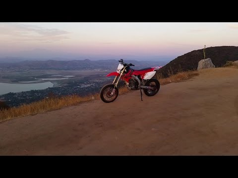 2005 crf450x CALIFORNIA STREET LEGAL SUPERMOTO dual sport crf 450 450x