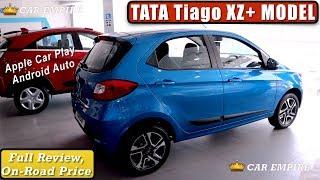 Tiago XZ Plus Review,Colours,Features,On Road Price,Interior | Tiago XZ Plus 2019