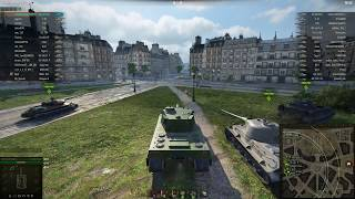 Type 4 Heavy, Париж, Стандартный бой