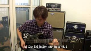 Jet City 333 Jca20h With Pedal Demo BB PREAMP BOSS ML-2