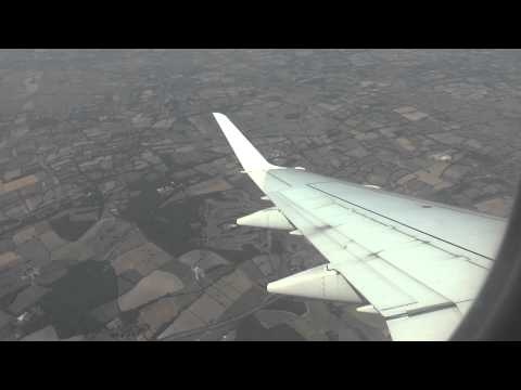 Flybe Emb175 Guernsey to London Gatwick  22 July 13 take off and landing