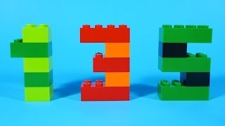 How To Build Lego NUMBERS (0-9) - 4630 LEGO® Build & Play Box Building Instructions For Kids